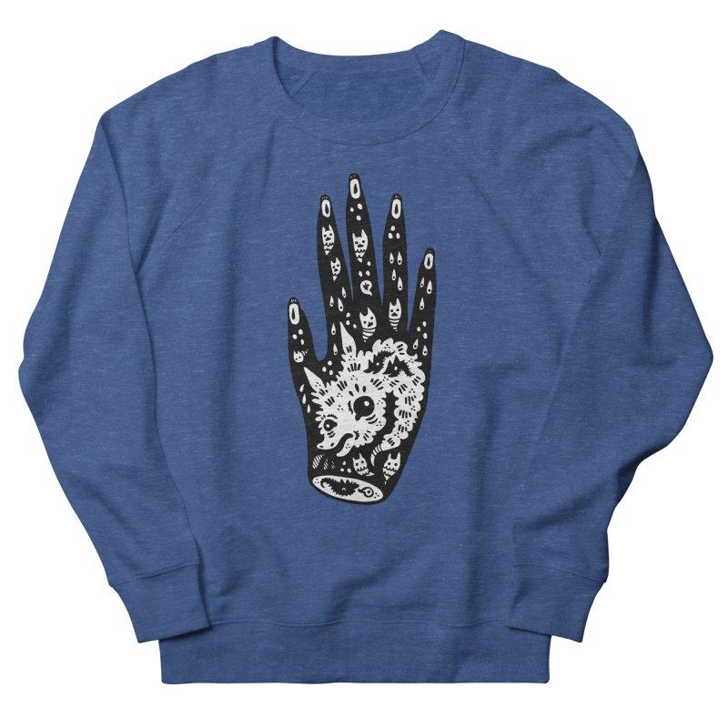 Right Hand (white inside) Women's Sweatshirt by Haypeep's Artist Shop