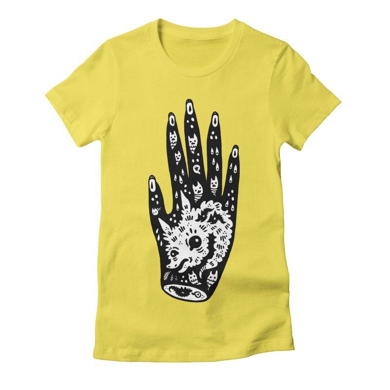 Right Hand (white inside) Women's T-Shirt by Haypeep's Artist Shop