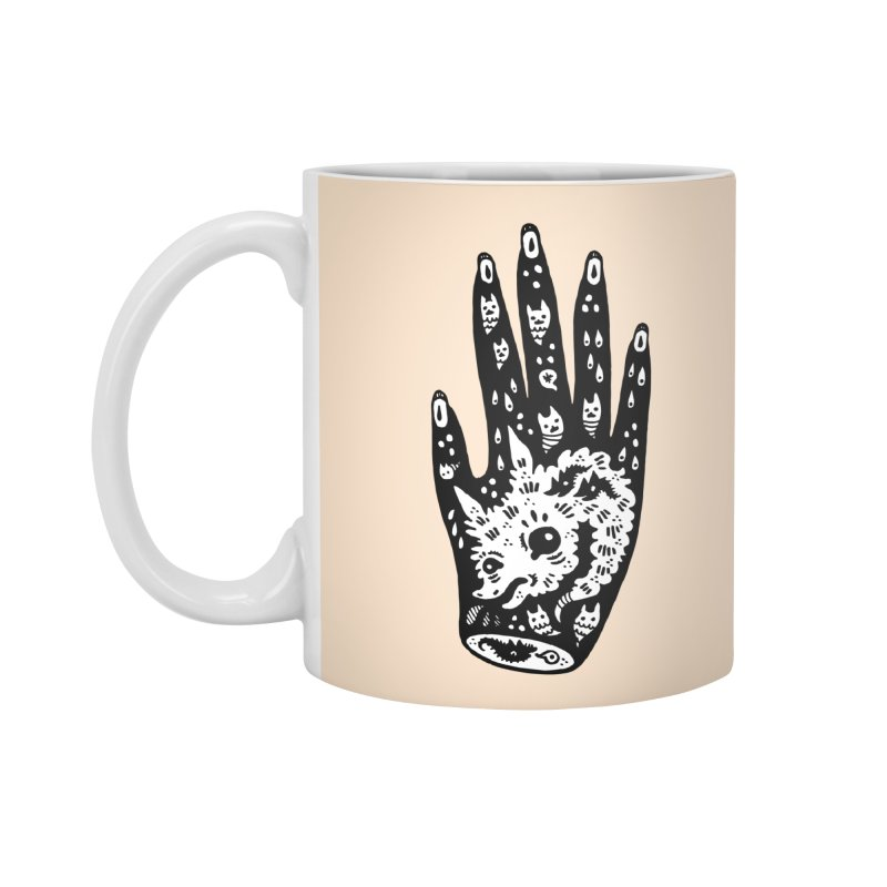 Right Hand (white inside) Accessories Standard Mug by Haypeep's Artist Shop