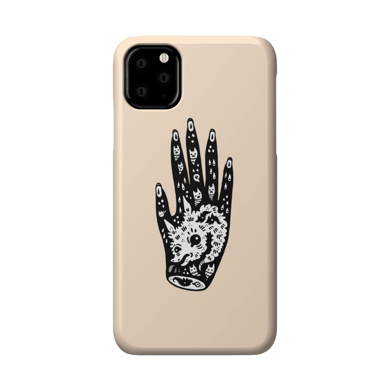 Right Hand (white inside) Accessories Phone Case by Haypeep's Artist Shop