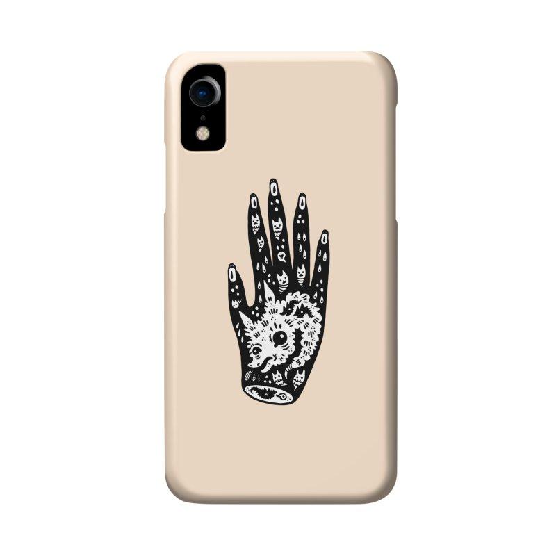 Right Hand (white inside) Accessories Phone Case by Haypeep's Artist Shop