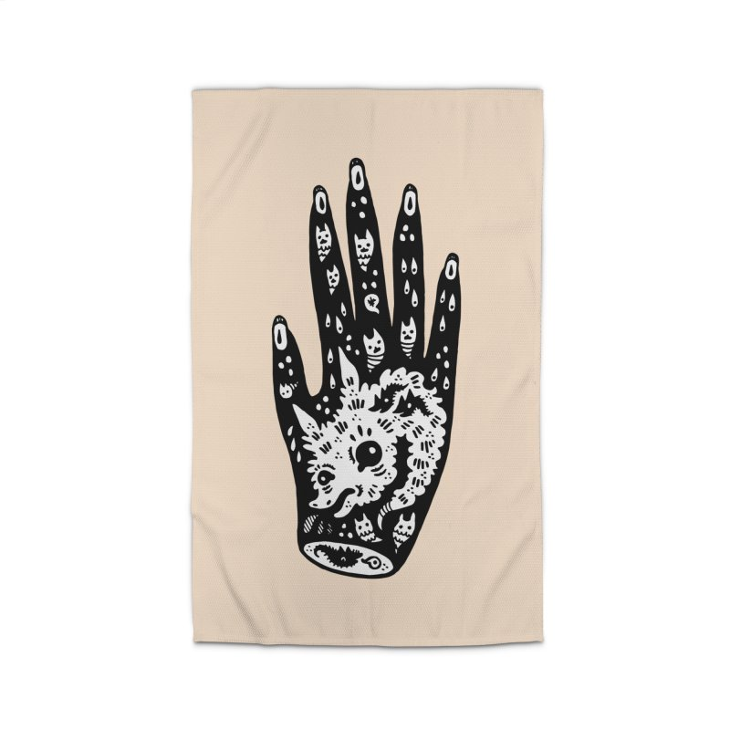 Right Hand (white inside) Home Rug by Haypeep's Artist Shop