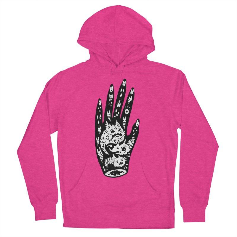 Left Hand (white inside) Men's Pullover Hoody by Haypeep's Artist Shop