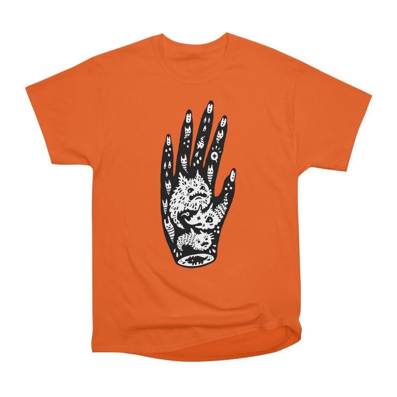 Left Hand (white inside) Men's Classic T-Shirt by Haypeep's Artist Shop