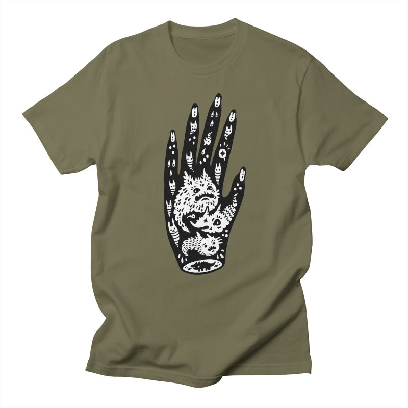 Left Hand (white inside) Women's Unisex T-Shirt by Haypeep's Artist Shop