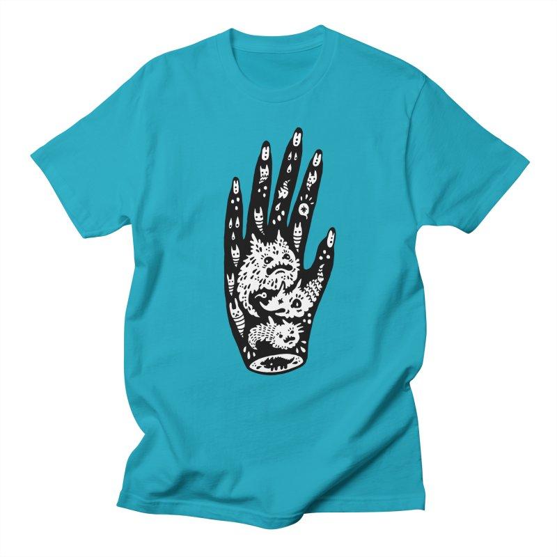 Left Hand (white inside) Women's Unisex T-Shirt by Haypeep's Artist Shop