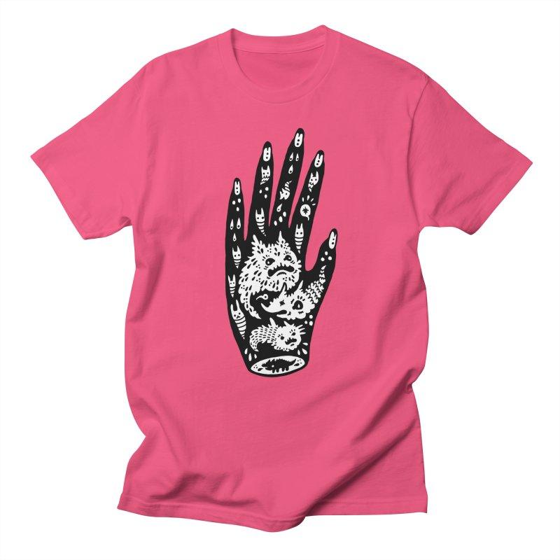Left Hand (white inside) Men's T-Shirt by Haypeep's Artist Shop