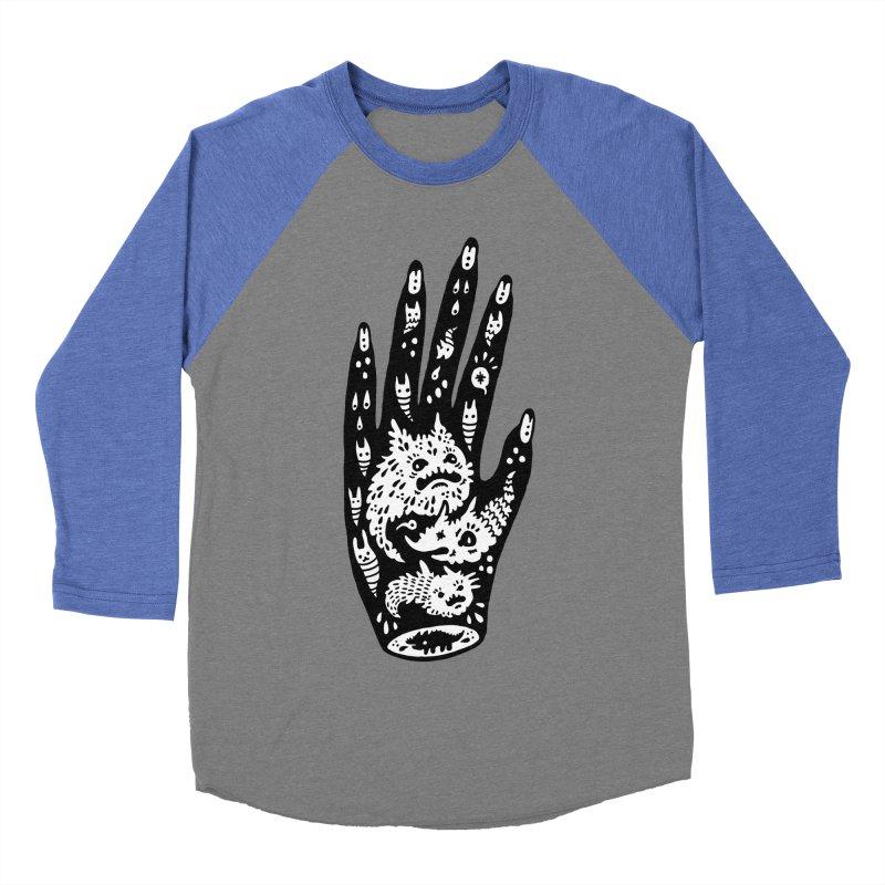 Left Hand (white inside) Women's Baseball Triblend T-Shirt by Haypeep's Artist Shop