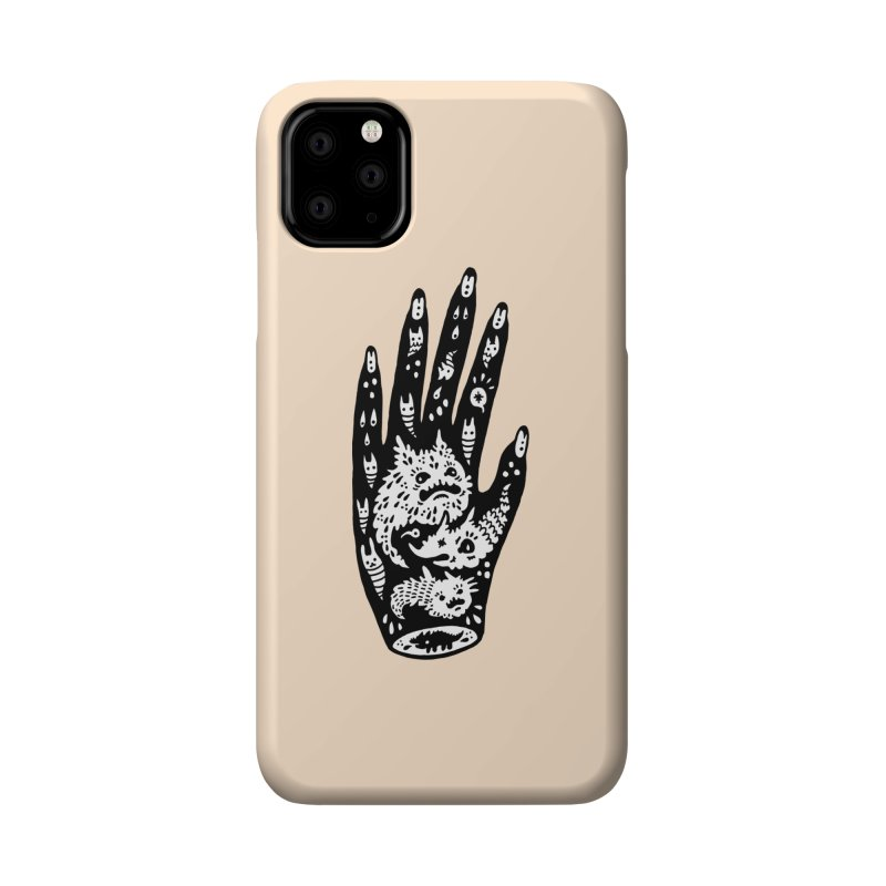 Left Hand (white inside) Accessories Phone Case by Haypeep's Artist Shop