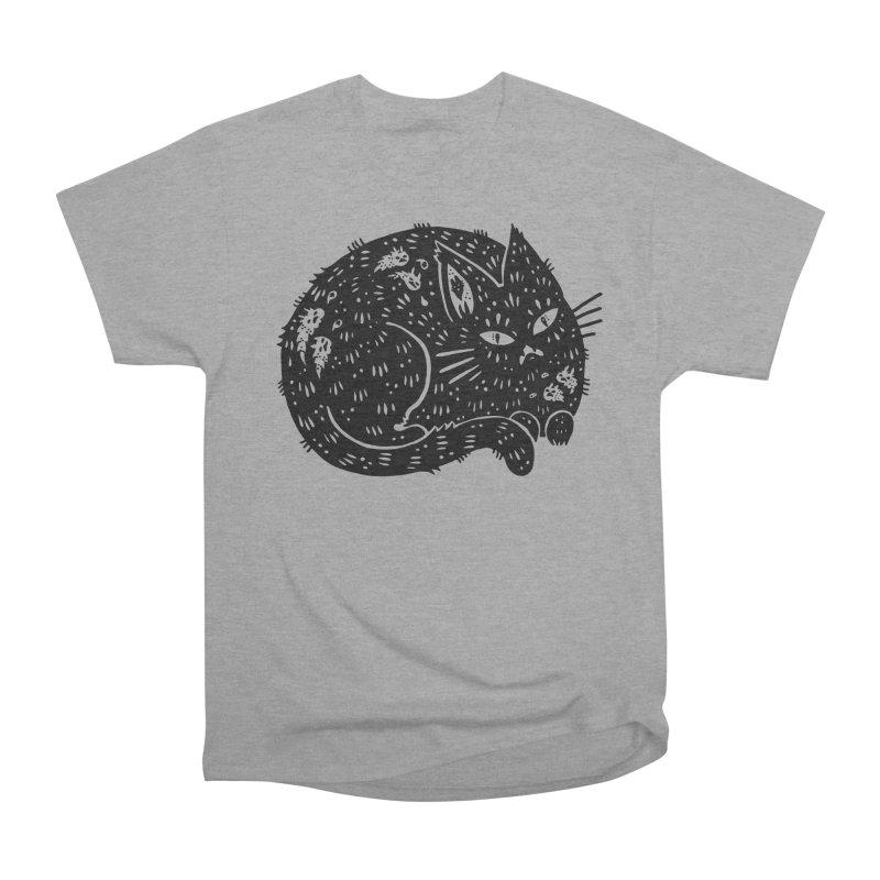 Fatty Cat sitting Men's Classic T-Shirt by Haypeep's Artist Shop