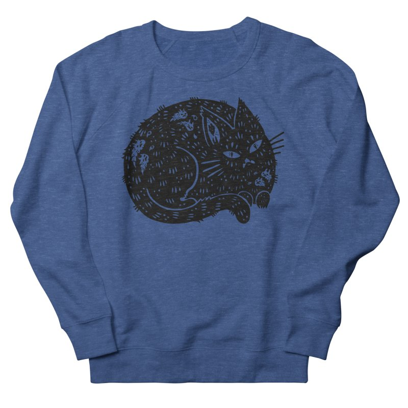 Fatty Cat sitting Women's Sweatshirt by Haypeep's Artist Shop