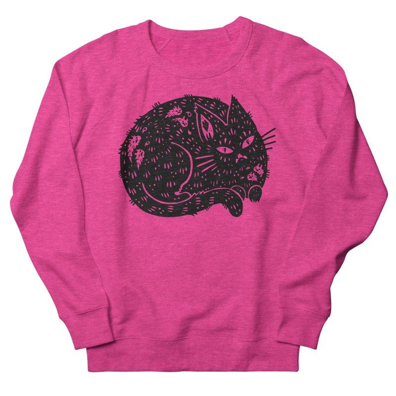 Fatty Cat sitting Women's Sweatshirt by Haypeep's Artist Shop