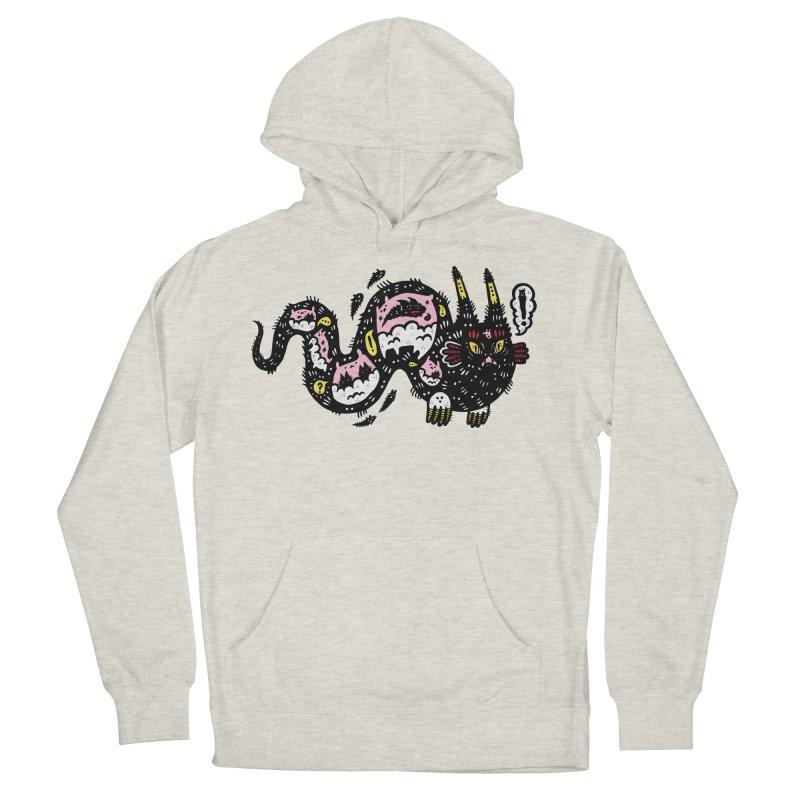 Wiggly Creature Men's Pullover Hoody by Haypeep's Artist Shop