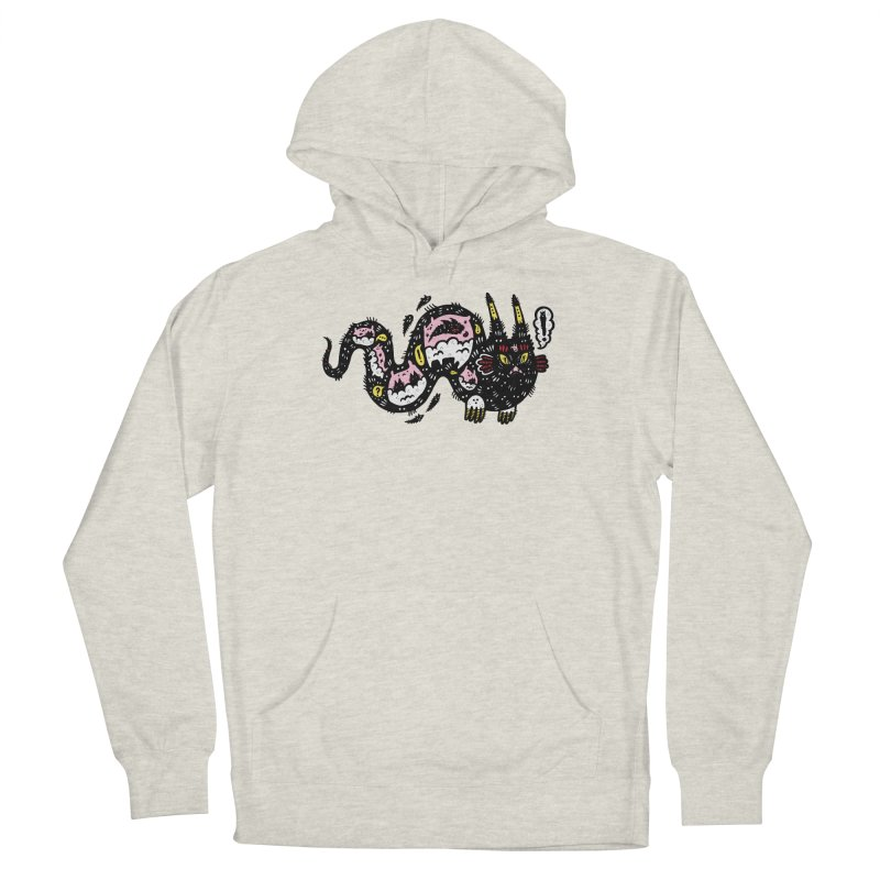 Wiggly Creature Men's French Terry Pullover Hoody by Haypeep's Artist Shop