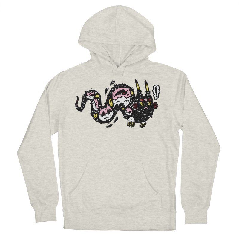 Wiggly Creature Men's Pullover Hoody by Haypeep's Artist Shop