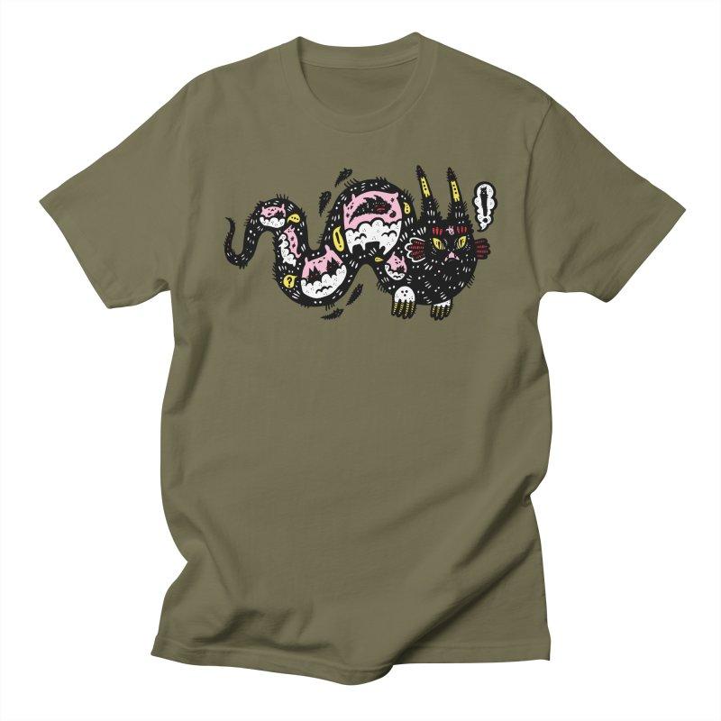 Wiggly Creature Men's Regular T-Shirt by Haypeep's Artist Shop