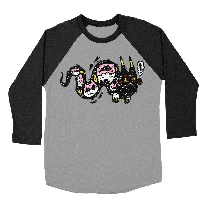 Wiggly Creature Women's Baseball Triblend Longsleeve T-Shirt by Haypeep's Artist Shop