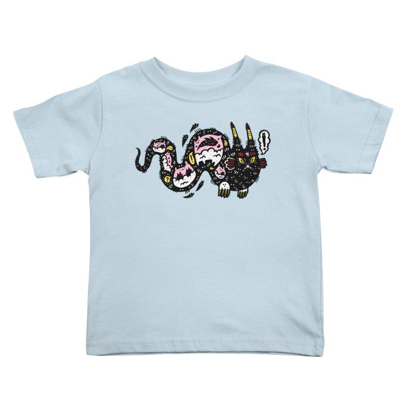 Wiggly Creature Kids Toddler T-Shirt by Haypeep's Artist Shop