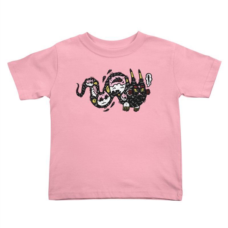 Wiggly Creature Kids Toddler T-Shirt by Haypeep's Artist Shop