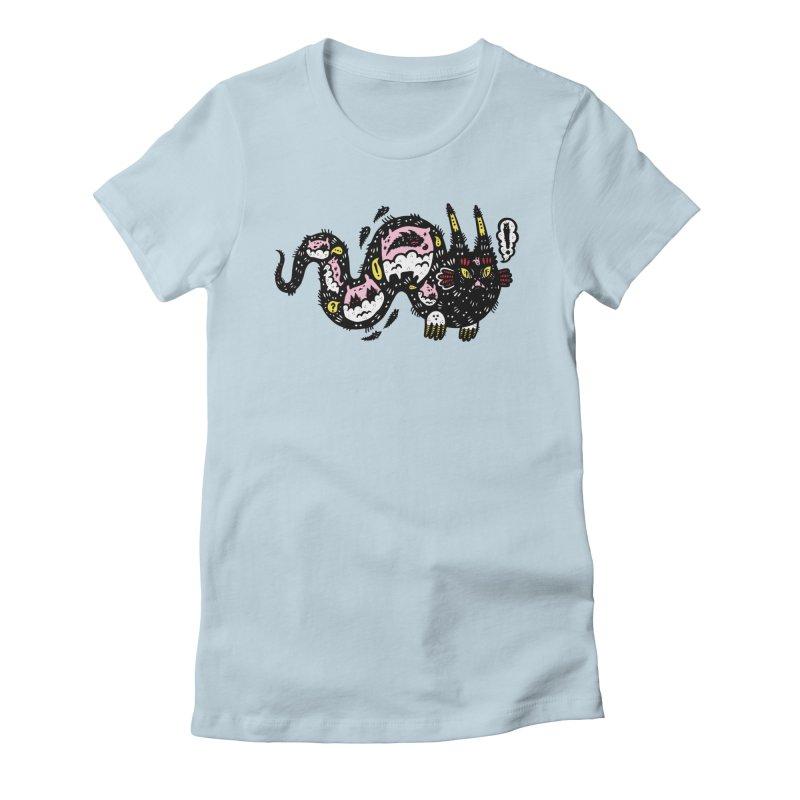 Wiggly Creature Women's T-Shirt by Haypeep's Artist Shop