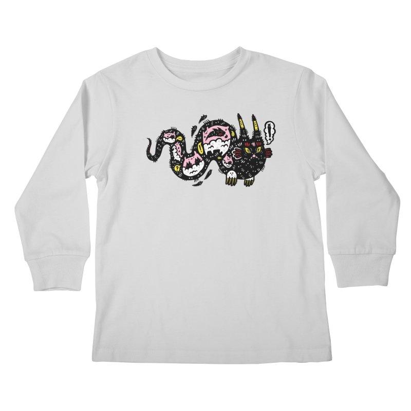 Wiggly Creature Kids Longsleeve T-Shirt by Haypeep's Artist Shop