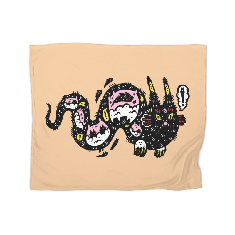 Wiggly Creature Home Blanket by Haypeep's Artist Shop