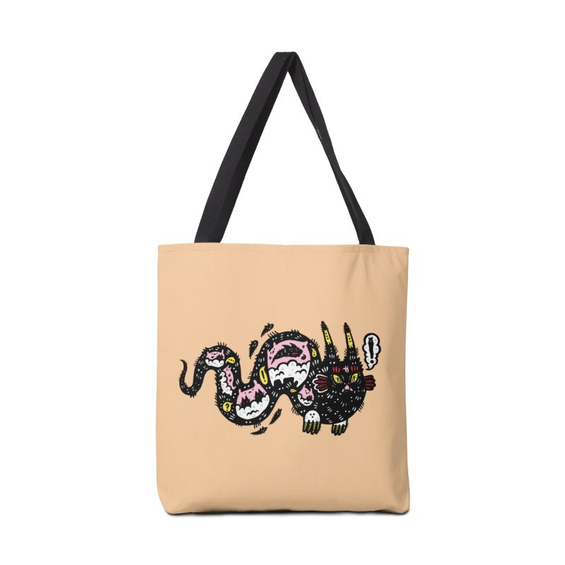 Wiggly Creature Accessories Bag by Haypeep's Artist Shop