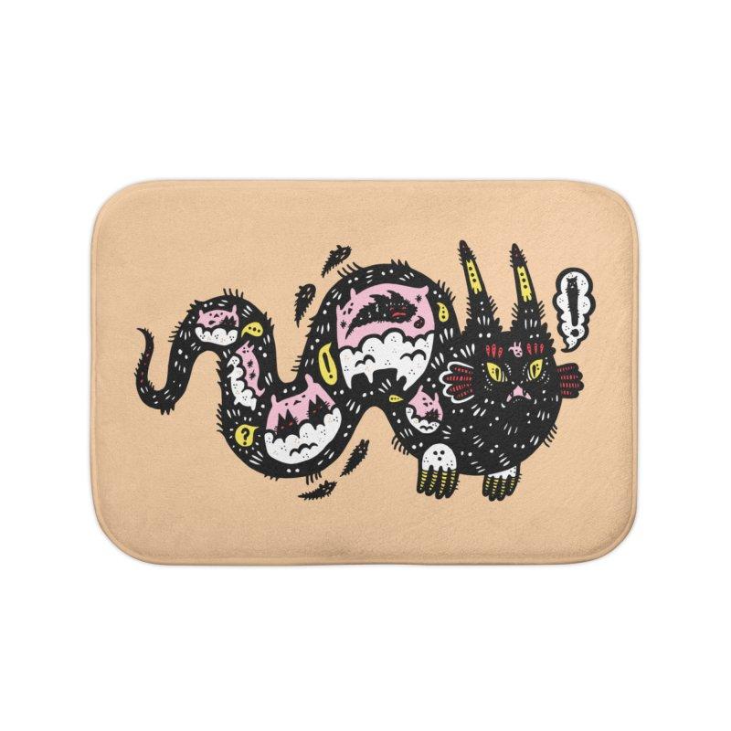 Wiggly Creature Home Bath Mat by Haypeep's Artist Shop