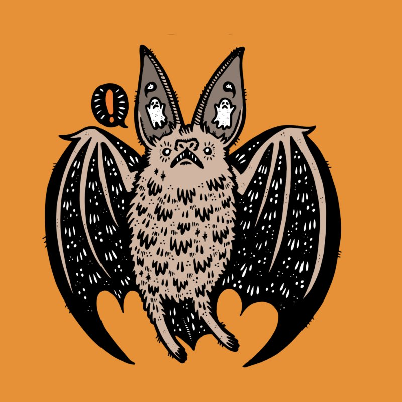 Batty Bat Accessories Sticker by Haypeep's Artist Shop
