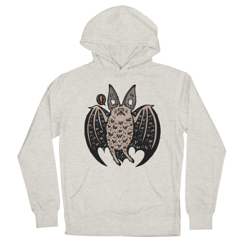 Batty Bat Men's Pullover Hoody by Haypeep's Artist Shop