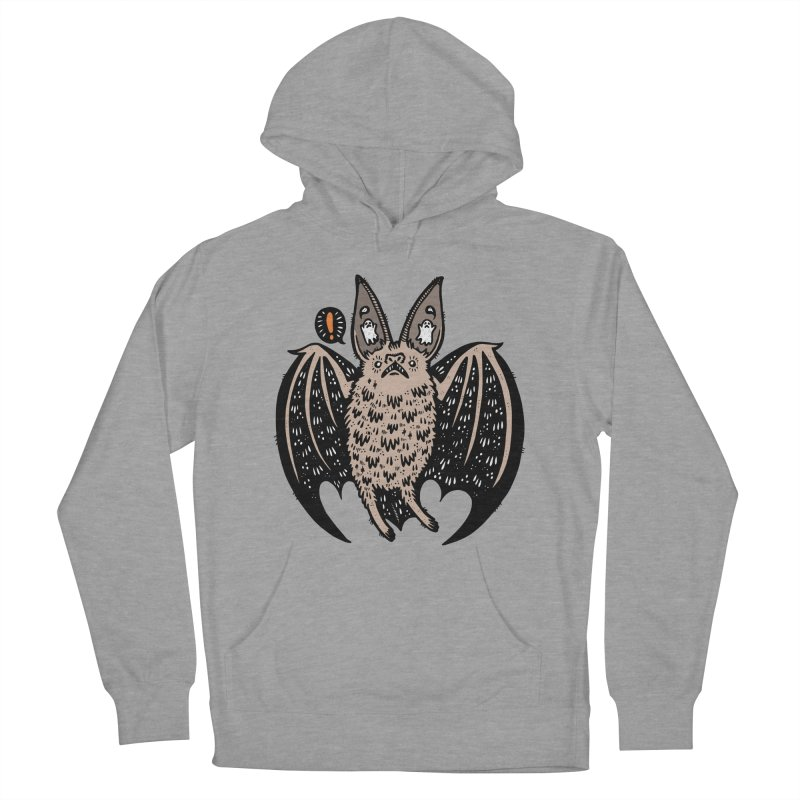 Batty Bat Women's Pullover Hoody by Haypeep's Artist Shop