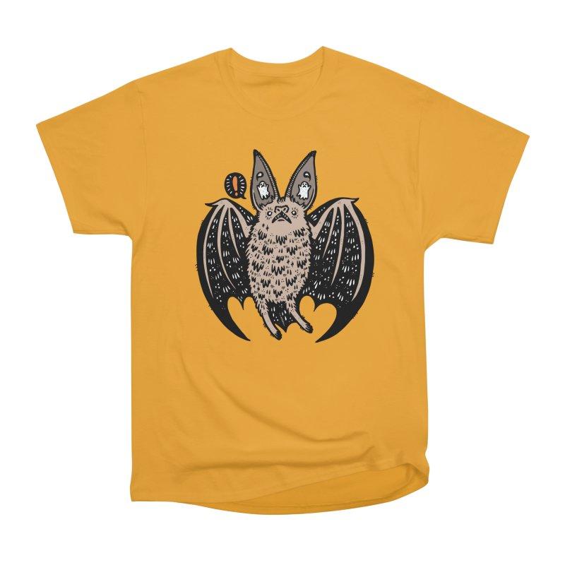 Batty Bat Women's Heavyweight Unisex T-Shirt by Haypeep's Artist Shop