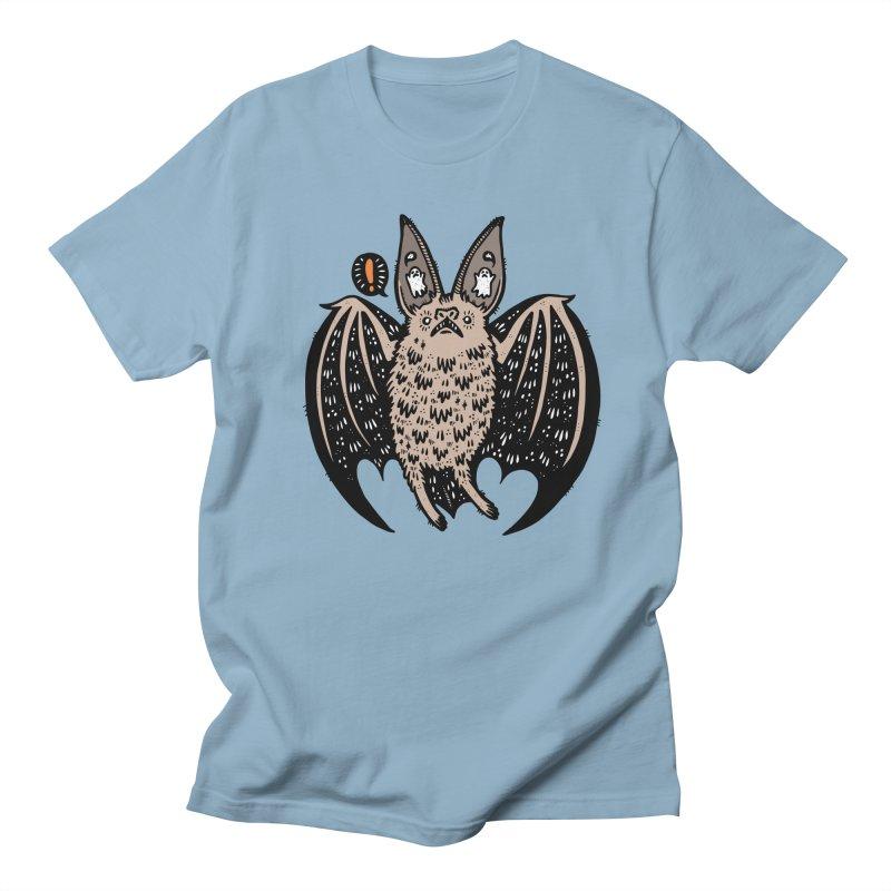 Batty Bat Men's Regular T-Shirt by Haypeep's Artist Shop