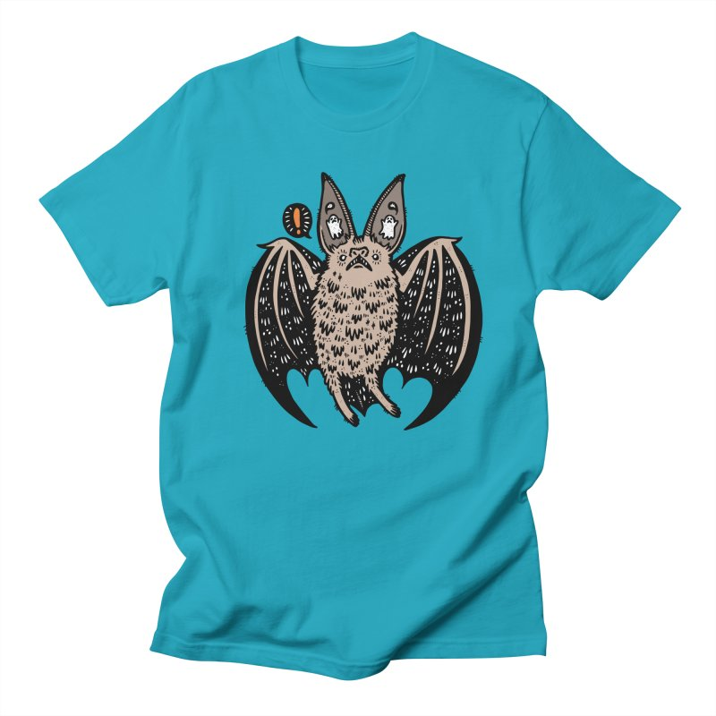 Batty Bat Women's Regular Unisex T-Shirt by Haypeep's Artist Shop