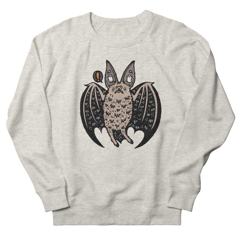 Batty Bat Women's French Terry Sweatshirt by Haypeep's Artist Shop