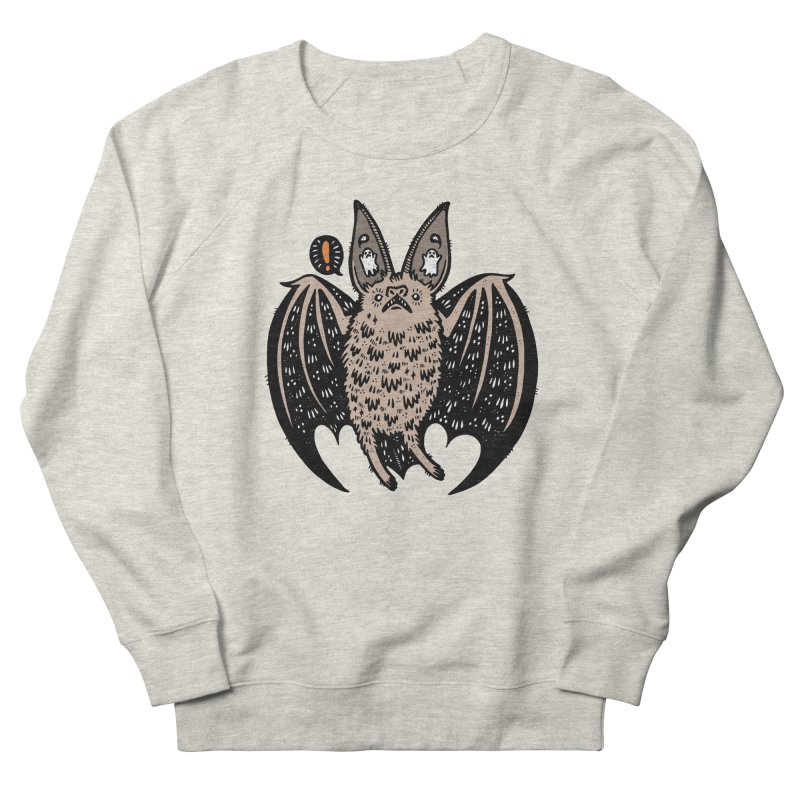 Batty Bat Men's Sweatshirt by Haypeep's Artist Shop