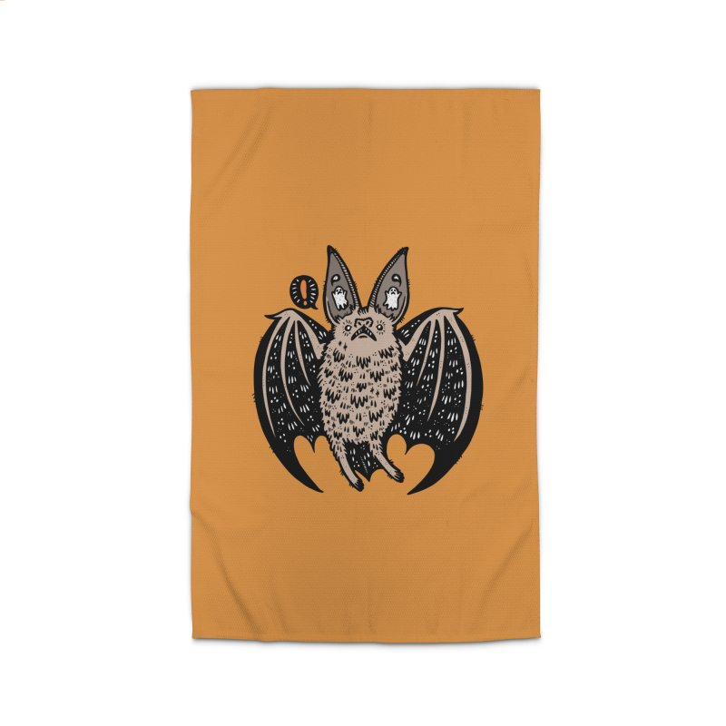 Batty Bat Home Rug by Haypeep's Artist Shop