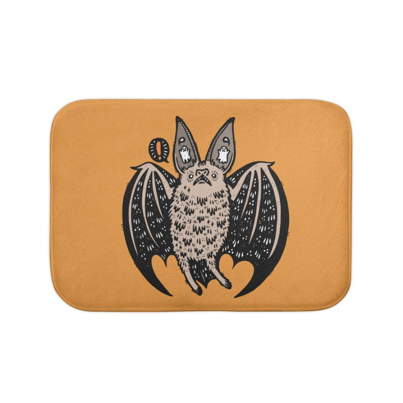 Batty Bat Home Bath Mat by Haypeep's Artist Shop