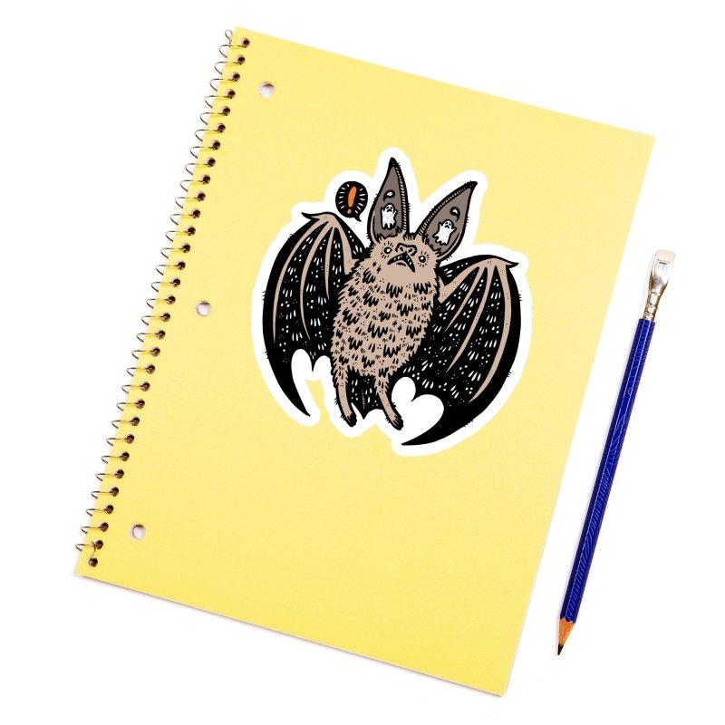 Batty Bat Accessories Sticker by Haypeep's Artist Shop