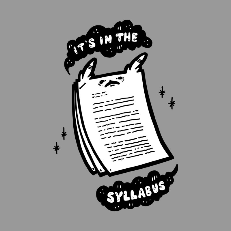 It's in the syllabus Women's Tank by Haypeep's Artist Shop