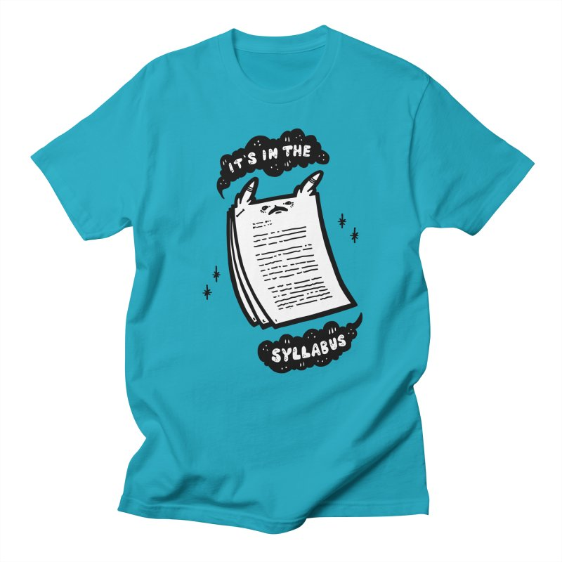 It's in the syllabus Men's T-Shirt by Haypeep's Artist Shop