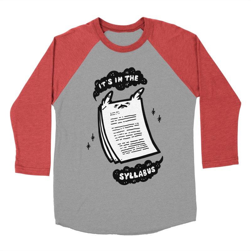 It's in the syllabus Men's Longsleeve T-Shirt by Haypeep's Artist Shop