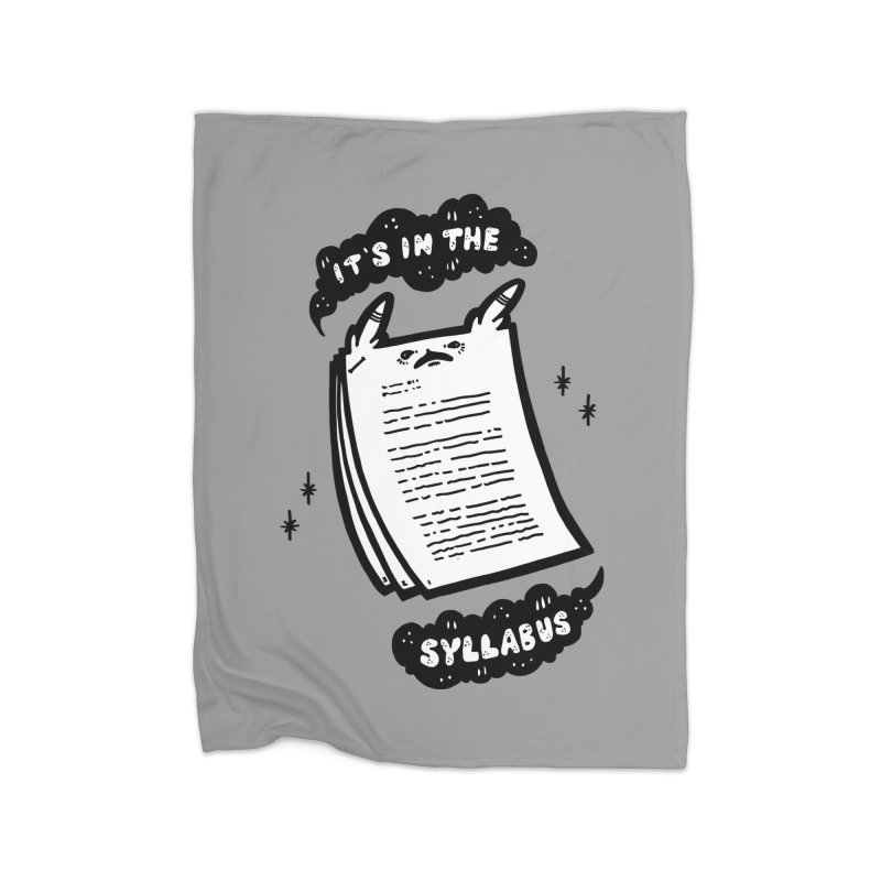 It's in the syllabus Home Blanket by Haypeep's Artist Shop
