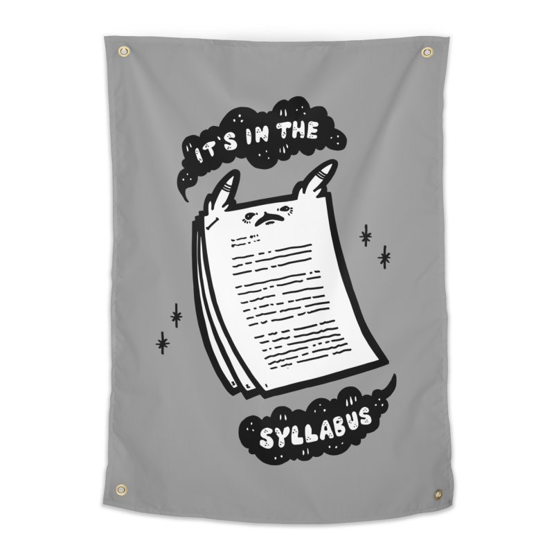 It's in the syllabus Home Tapestry by Haypeep's Artist Shop