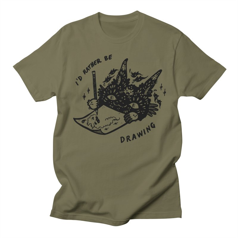 I'd rather be drawing Women's T-Shirt by Haypeep's Artist Shop