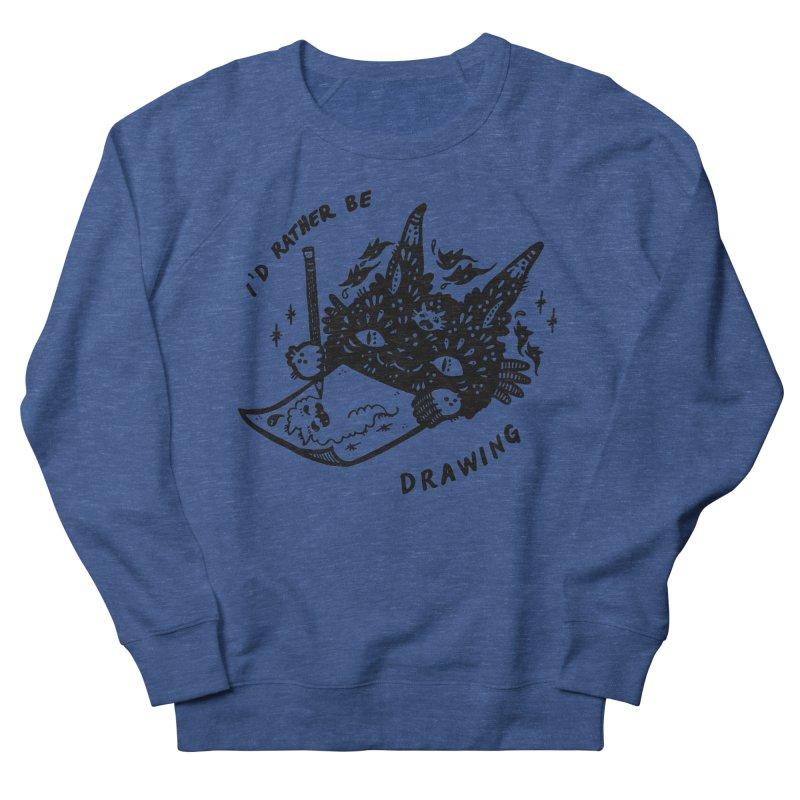 I'd rather be drawing Men's Sweatshirt by Haypeep's Artist Shop