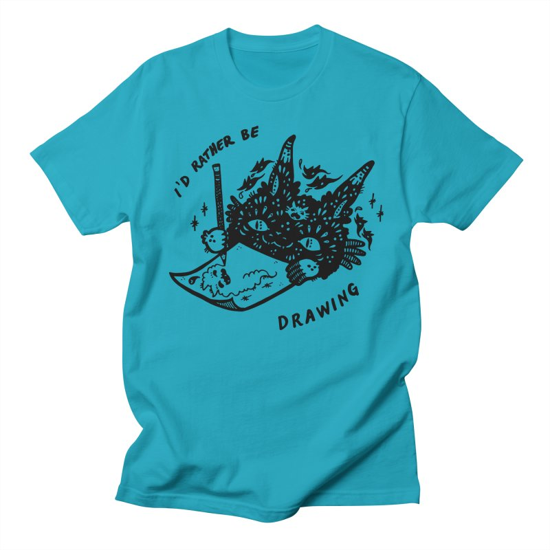 I'd rather be drawing Men's T-Shirt by Haypeep's Artist Shop