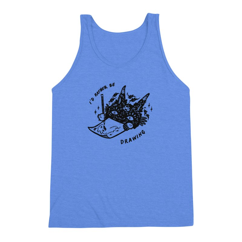 I'd rather be drawing Men's Tank by Haypeep's Artist Shop