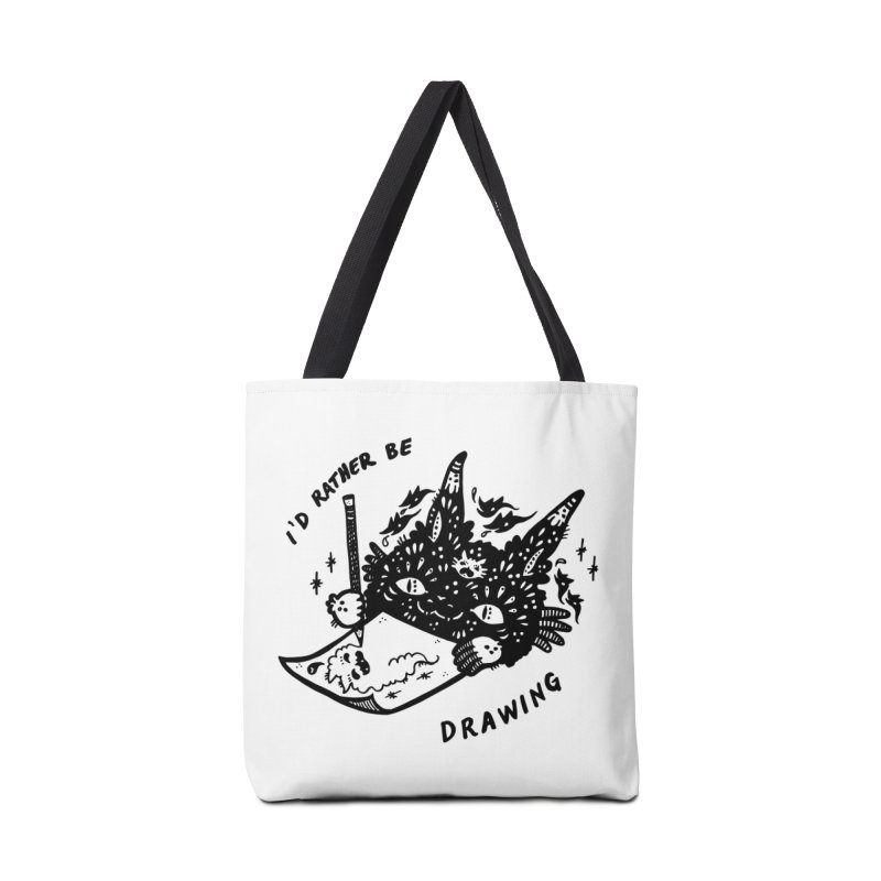 I'd rather be drawing Accessories Bag by Haypeep's Artist Shop
