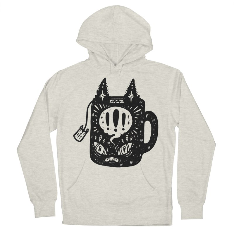 Mug of Tea Men's French Terry Pullover Hoody by Haypeep's Artist Shop